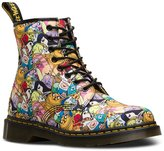 Dr. Martens Men's Adventure Time Characters Castel Fashion Boots, Multi Canvas, 13 M UK, 14 M US