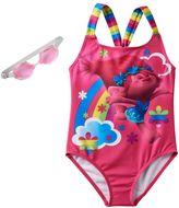 Girls 4-6x DreamWorks Trolls Poppy Racerback One-Piece Swimsuit
