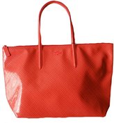 Lacoste Women's Glossy Large Shopping Bag