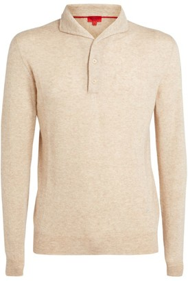 Isaia Long-Sleeved Polo Shirt