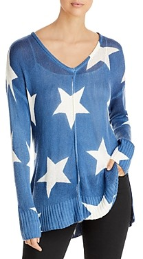 Elan International Star Print Sweater