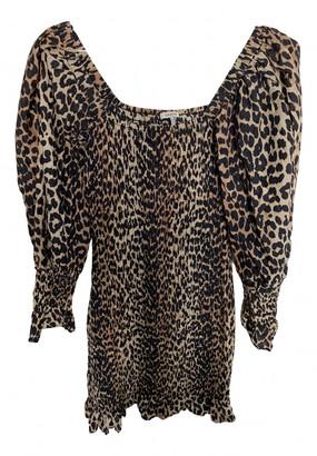 Ganni Spring Summer 2019 Brown Cotton - elasthane Dresses