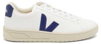 Veja Urca V-logo Coated-canvas Trainers - White Navy