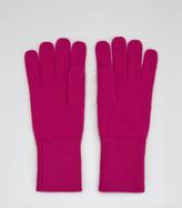 Reiss Willaston Glove RIBBED TRIM GLOVES