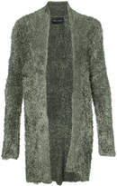 Baja East long open cardigan