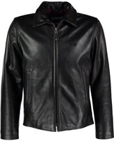 Schott Nyc Leather Jacket Brown