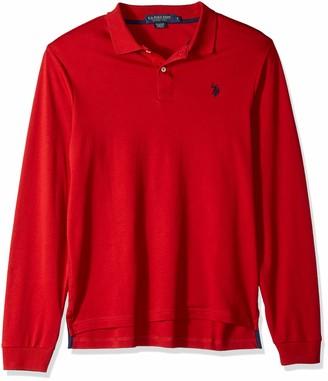 Polo Association Men/'s Short Sleeve Interlock Polo Shirt U.S