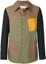 Marni - colour block patterned jacket