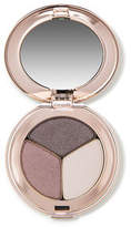 Jane Iredale PurePressed Eye Shadow Triple - Sundown - pearl grey purple shimmery grey and pale pearl grey