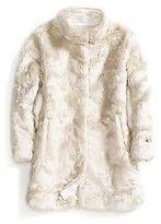 Tommy Hilfiger Big Girl's Faux Fur Coat
