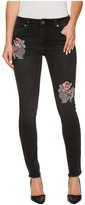 Romeo & Juliet Couture Embroidered Skinny Denim Pants