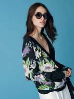 Diane von Furstenberg Sonata Circle Sunglasses