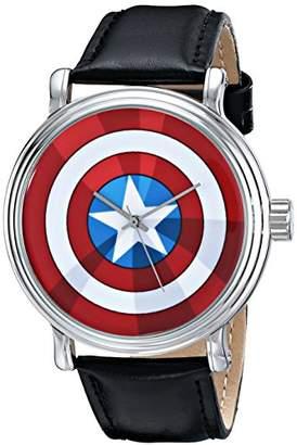 Marvel Men's W001770 The Avengers Captain America Analog-Quartz Watch
