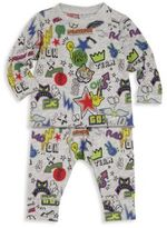 Stella McCartney Baby's Two-Piece Graphic Top & Leggings Set