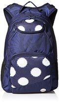 Roxy Junior's Shadow Swell Polyester Backpack