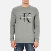 Calvin Klein Men's 90's ReIssue Sweatshirt - Light Grey Heather