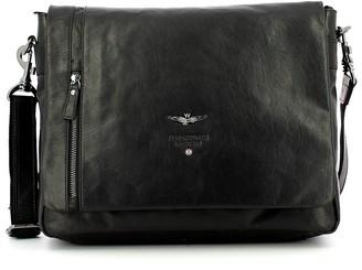 Aeronautica Militare Black Briefcase