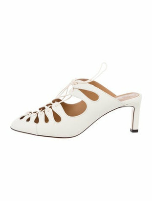 The Row Dixie Leather Pumps w/ Tags