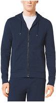 Michael Kors Full-Zip Hooded Cotton Sweatshirt