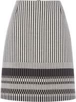 HUGO BOSS Velmala patterned skirt