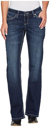 Wrangler Shiloh Low Rise Bootcut Jeans (Talk of the town) Women's Jeans