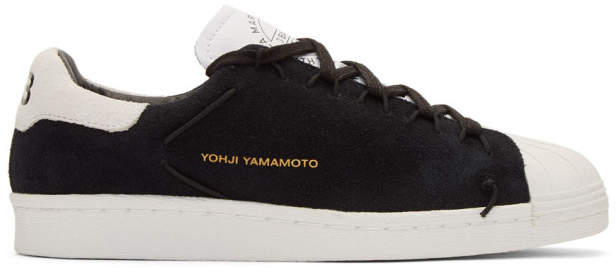Y-3 Black and White Super Knot Sneakers