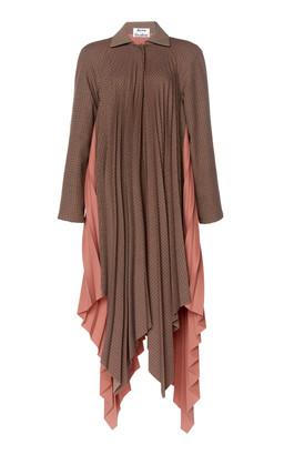 Acne Studios Orima Pleated Wool Coat