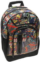 Marvel Black Backpack Mens