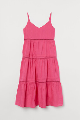 H&M H&M+ V-neck Cotton Dress