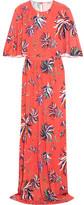 Emilio Pucci Printed Jersey Maxi Dress - Coral