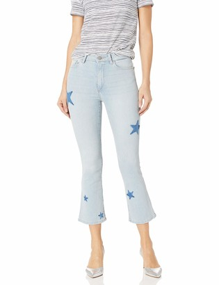DL1961 Women's Bridget High Rise Bootcut fit Crop Jeans