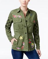William Rast Alicia Patched Cargo Jacket