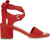 Claudie Pierlot Ariane suede heeled sandals