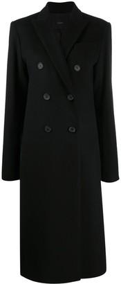 Joseph Double-Breasted Midi Coat