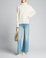 Co Wool/Cashmere Knit Turtleneck Sweater
