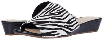 Clarks Sense Slide (Zebra Print) Women's Shoes