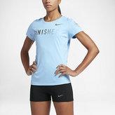 """Nike Dry Miler """"Finisher"""" (Chicago 2016) Women's Short Sleeve Running Top"""