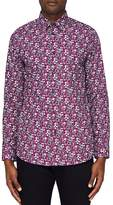 Ted Baker Bellla Printed Floral Regular Fit Button-Down Shirt