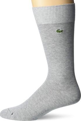 Lacoste Men's Jersey Tube Socks
