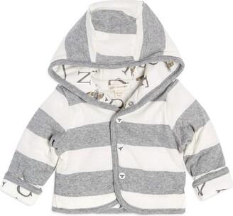 Burt's Bees Baby Baby Watercolor Abee C Reversible Jacket