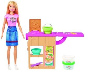 Barbie Noodle Bar Doll and Playset