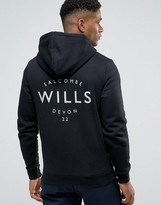 Jack Wills Hoodie With Wills Logo In Black