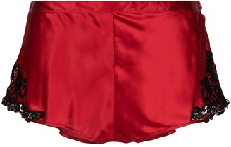 Maison Silk-blend Shorts