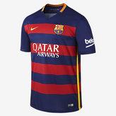 Nike 2015/16 FC Barcelona Stadium Home Men's Soccer Jersey