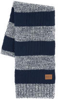BOSS Loose stitch knit scarf