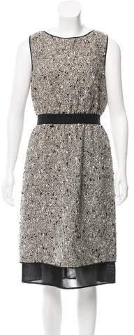 Giambattista Valli Sleeveless Embellished Midi Dress