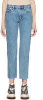 Earnest Sewn Blue Melody Crop Flare Jeans