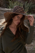 Womens FALLON STRAW HAT