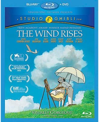 Disney The Wind Rises Blu-ray Combo Pack