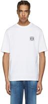 Loewe White Anagram Logo T-shirt
